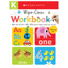 Scholastic Early Learners: Wipe Clean Workbooks - Kindergarten