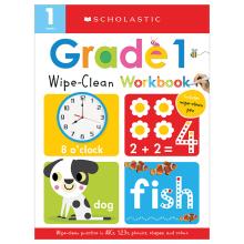 Scholastic Early Learners: Wipe Clean Workbooks - Grade 1