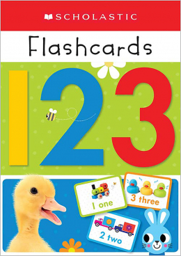Scholastic Early Learners: Flashcards 123