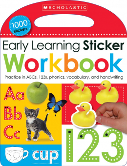 Scholastic Early Learners: Early Learning Sticker Workbook