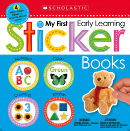 Scholastic Early Learners: My First Early Learning Sticker Books Boxset