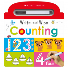 Scholastic Early Learners: Write and Wipe Early Math