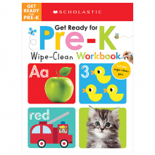 Scholastic Early Learners: Wipe-Clean Workbooks: Get Ready for Pre-K