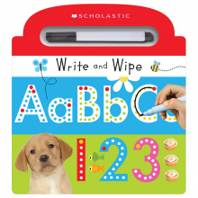 Scholastic Early Learners: Write and Wipe ABC 123