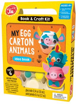Klutz Jr: My Egg Carton Animals
