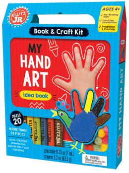 Klutr Jr: My Hand Art