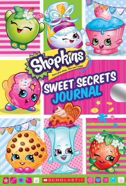 Sweet Secrets Journal (Shopkins Locking Journal)