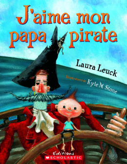 J'aime mon papa pirate