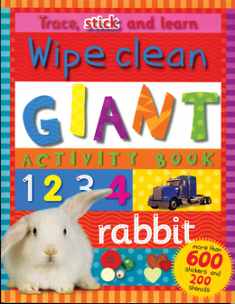 Wipe Clean Giant Activity Book