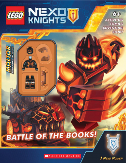 LEGO® NEXO Knights Activity Book #2: Battle of the Books!