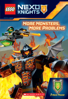 LEGO® NEXO Knights: Chapter Book 4: More Monsters, More Problems