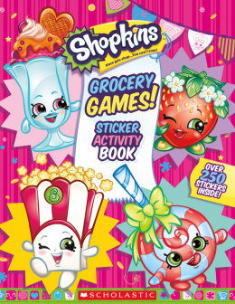 Shopkins™: Grocery Games! Sticker Activity Book