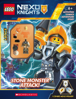 LEGO® NEXO KNIGHTS Activity Book with Minifigure #3