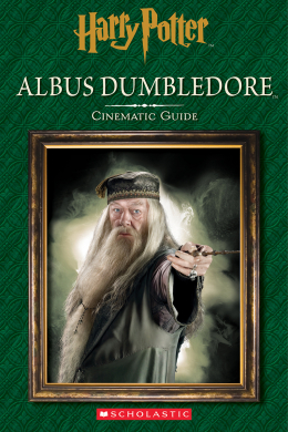 Harry Potter: Albus Dumbledore: Cinematic Guide