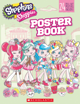 Shopkins: Shoppies: Pullout Poster Book