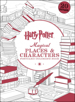 Harry Potter: Magical Places and Characters Postcard Coloring Book