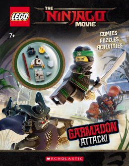 Garmadon Attack! (The Lego Ninjago Movie: Activity Book with Minifigure)