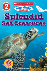Scholastic Reader Level 2: Icky Sticky Readers Sea Creatures