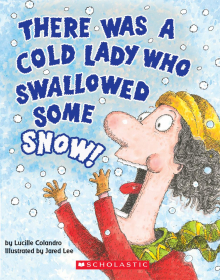 A Board Book: There Was a Cold Lady Who Swallowed Some Snow!