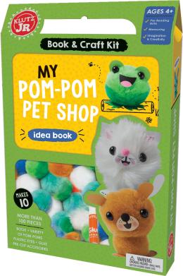 Klutz Jr.: My Pom-Pom Pet Shop