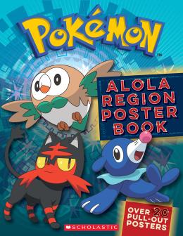 Pokémon: Alola Poster Book