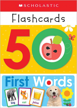 Scholastic Early Learners: Write and Wipe Flashcards: First 50 Words