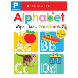 Scholastic Early Learners Wipe Clean Workbooks: Pre-K: Alphabet