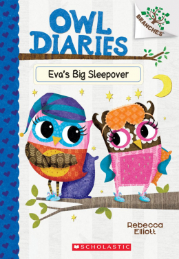 Owl Diaries #9: Eva's Big Sleepover