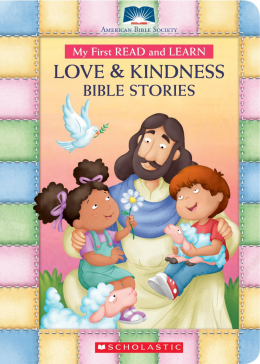 My First Read and Learn Love and Kindness Bible Stories