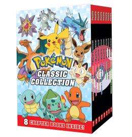 Pokémon 8 Book Boxset