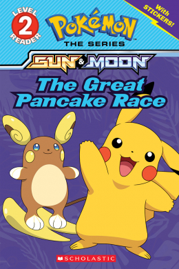 Pokémon: Level 2 Reader: The Great Pancake Race