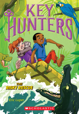Key Hunters #6: The Risky Rescue