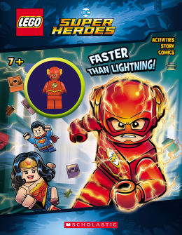 Lego DC Activity Book With Minifigure #3: Faster than Lightening!