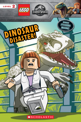 Lego Jurassic World: Reader with Stickers