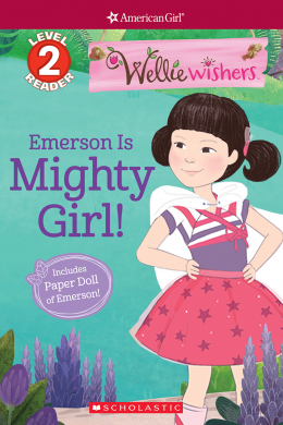 American Girl®: WellieWishers: Emerson is...Mighty Girl!