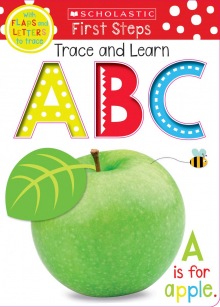 Scholastic Early Learners: Trace, Lift, and Learn ABC