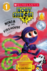 Scholastic Reader Level 1: Moby Shinobi: Ninja at the Firehouse