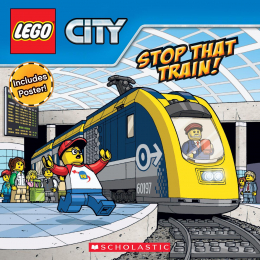 LEGO City: Stop that Train! (8x8 with poster)