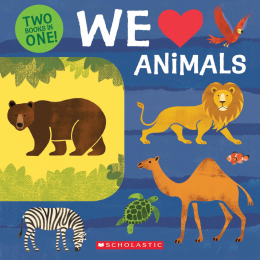 Two Books in One!: We Love Animals