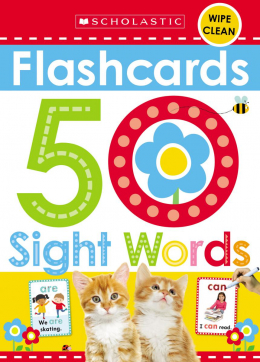 Scholastic Early Learners: Flashcards - 50 Sight Words