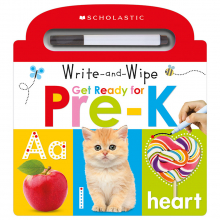 Scholastic Early Learners: Write and Wipe Get Ready For Pre-K