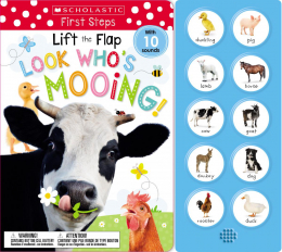 Scholastic Early Learners: Lift the Flap Look Who's Mooing!