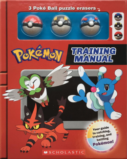 Pokemon: Training Manual (Battle Box With Erasers)
