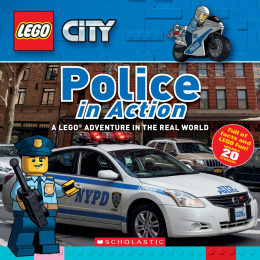 LEGO® City Nonfiction: Police in Action (8x8)