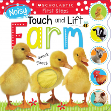 Scholastic Early Learners: Noisy Touch And Lift Farm (Revised)