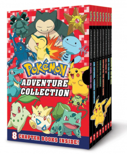 Pokemon: Classic Chapter Book Collection 2 (Books 9-16)