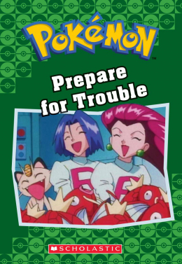Pokémon Classic Chapter Book #12: Prepare for Trouble