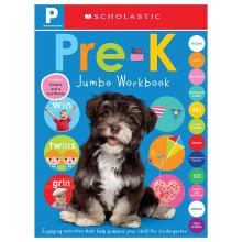 Scholastic Early Learners: Pre-K Jumbo Workbook