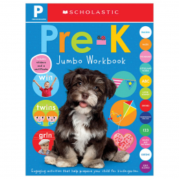Scholastic Early Learners: Pre-K Jumbo Workbook