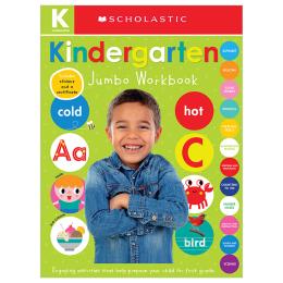 Scholastic Early Learners: Jumbo Workbook: Kindergarten
